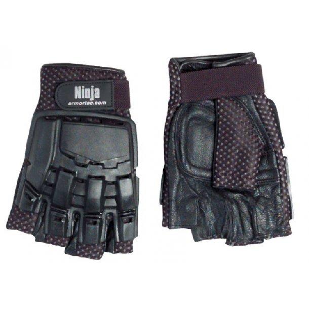 Skyde handsker ½ finger Ninja