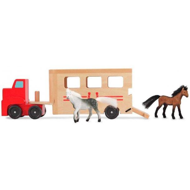 hestetransport i træ