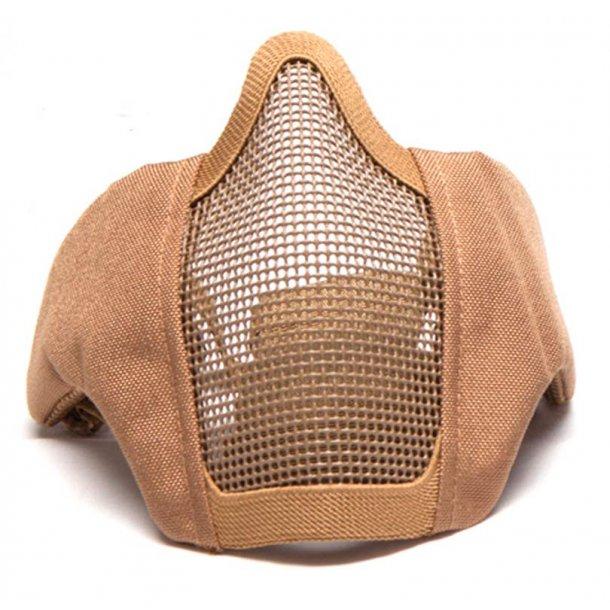 Strike systems Gitter maske med stof - sand