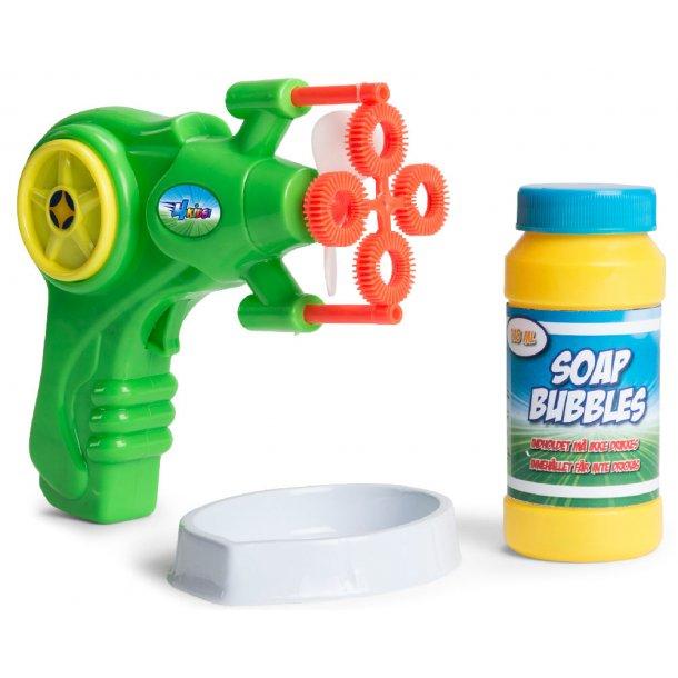 Sæbeboble pistol med refill