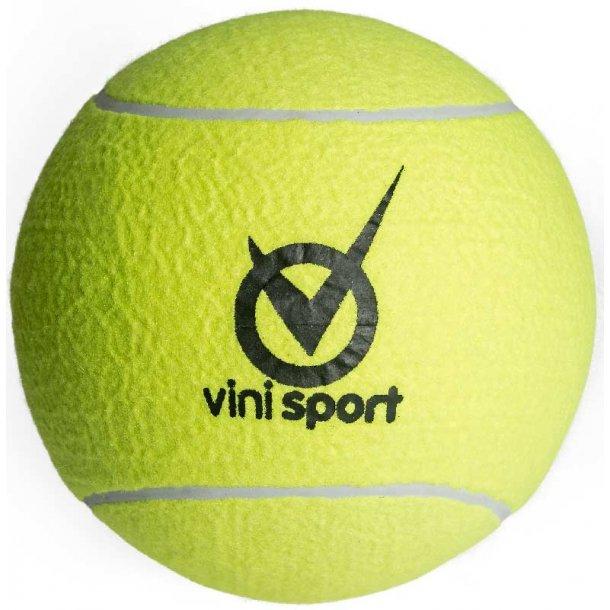 Tennisbold kæmpe - 21 cm.