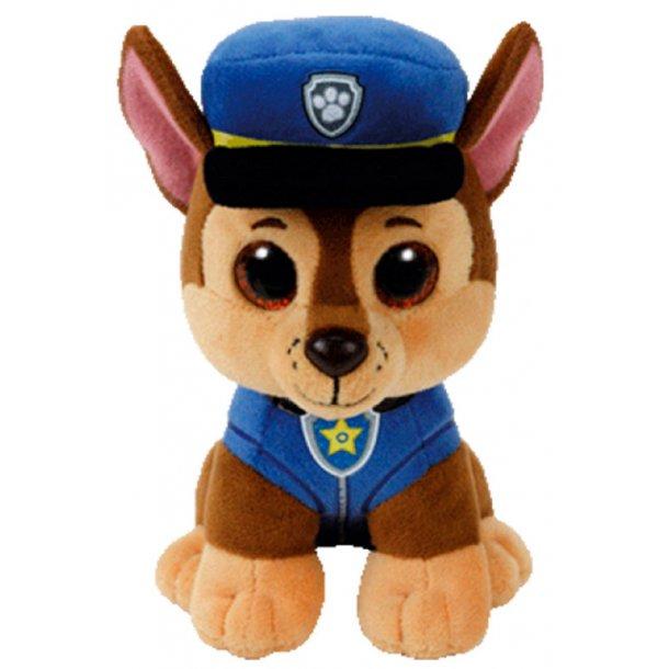 Paw Patrol 15 cm. TY bamse - Chase