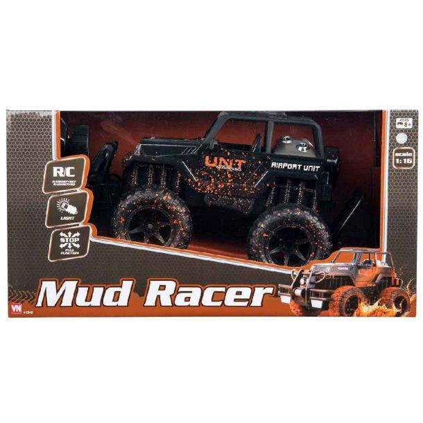 Fjernstyret mud racer - 1:16