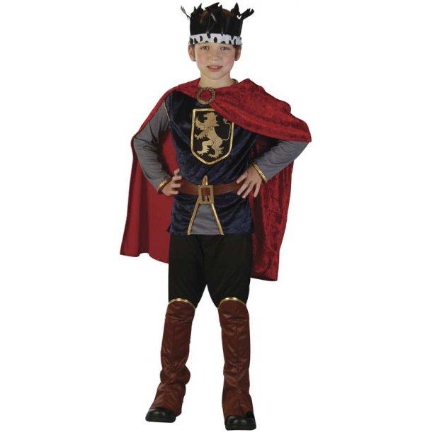 Luksus ridder dragt str. 120 cm.