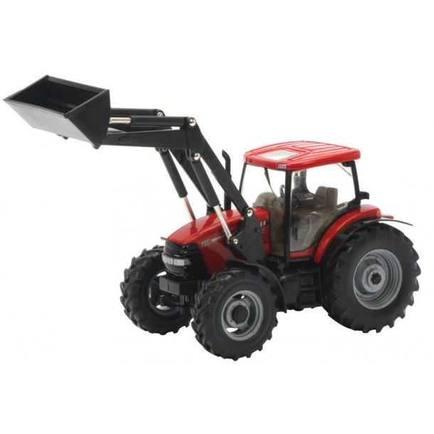 Case IH Max110 traktor med frontlæsser