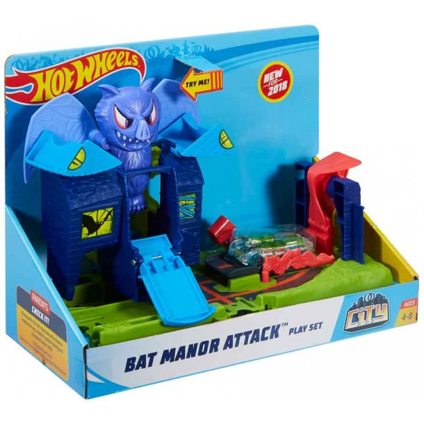 Hot Wheels City bat manor Attack