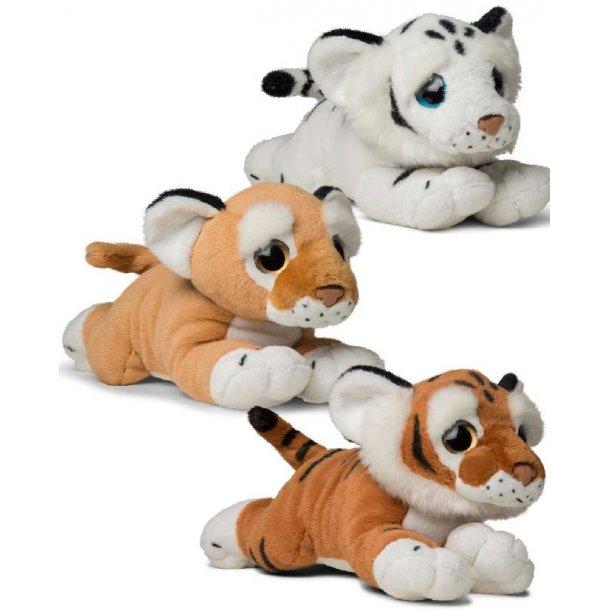 Kiddy tiger / løve - 33 cm.