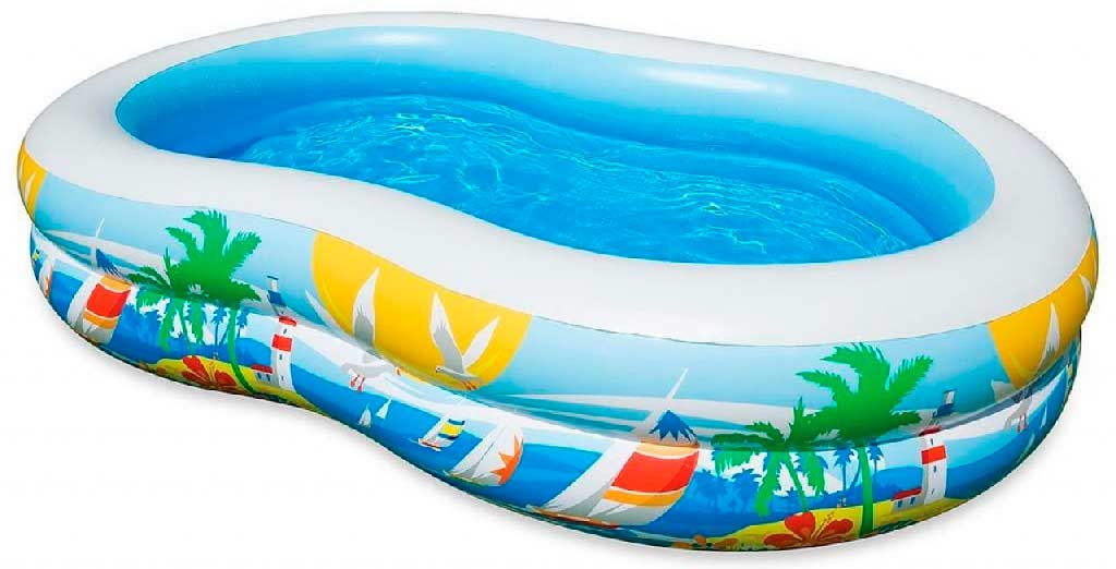 Intex paradise pool p 572 liter billig intex pool for Intex pool billig
