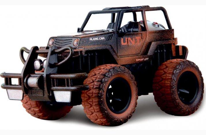 Fjernstyret mud racer