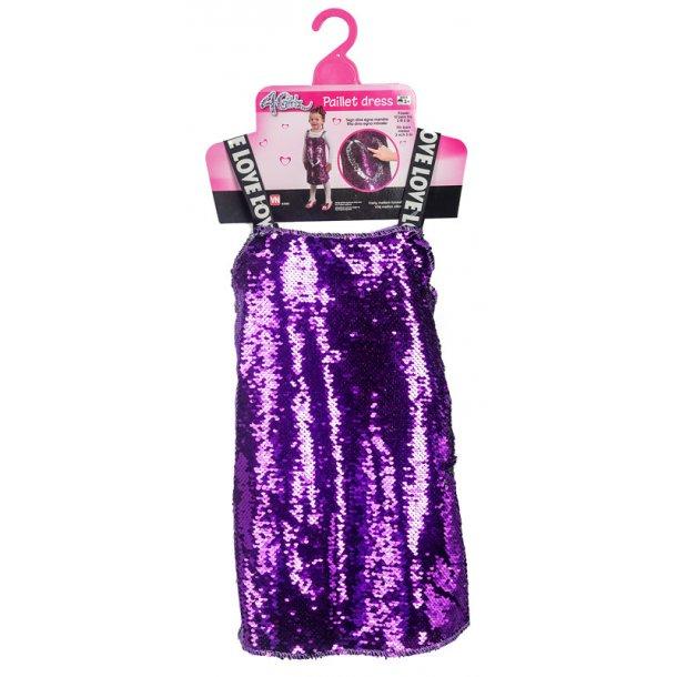 4-Girlz palliet kjole