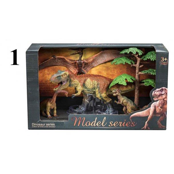 Dinosaursæt med tilbehør