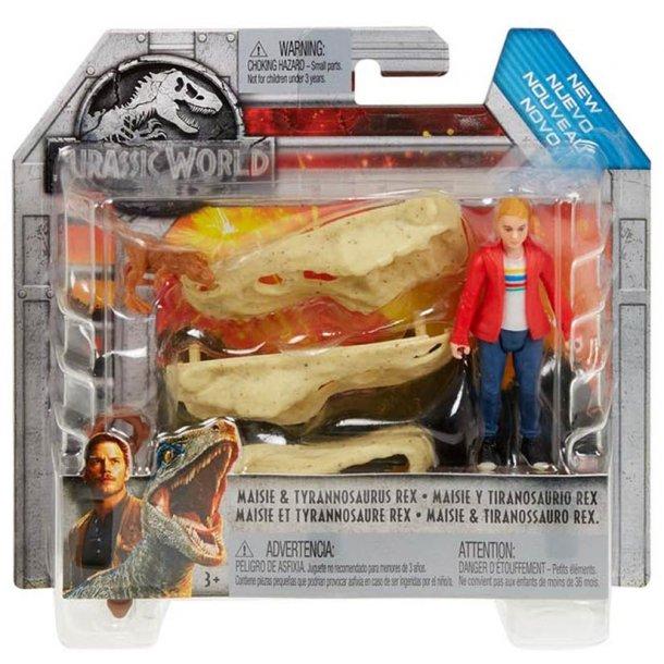 Jurassic World Maisie og T-Rex