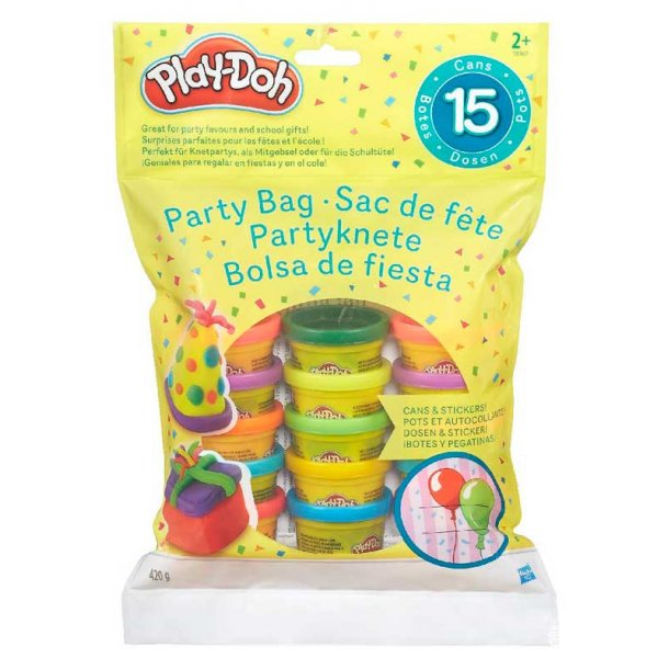 Play Doh modellervoks party bag