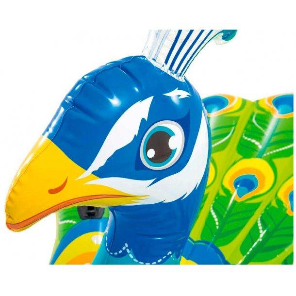 Intex kæmpe bade påfugl