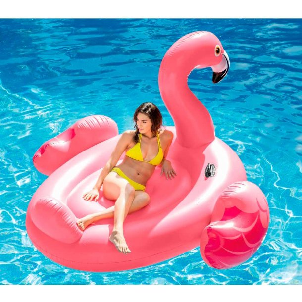 Intex kæmpe bade flamingo