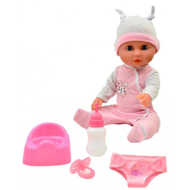 Baby Olivia - tisse dukke