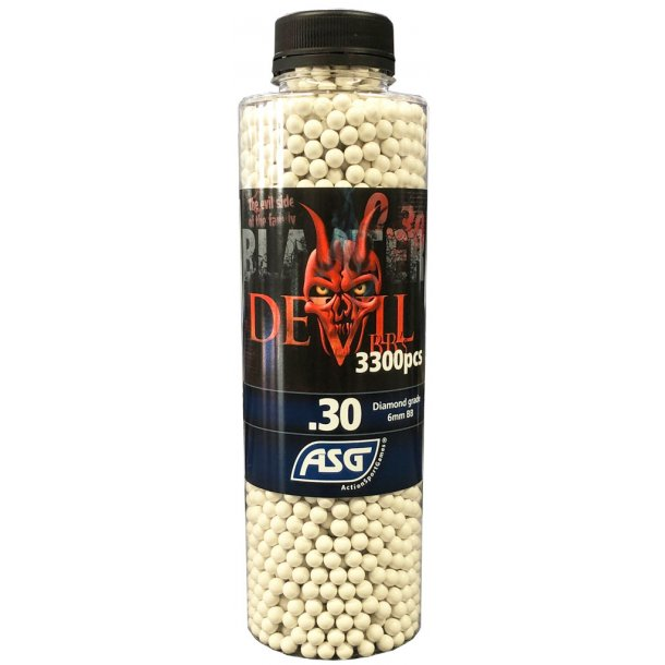 0,30G Blaster Devil - Præcisions kugler 3300 stk.