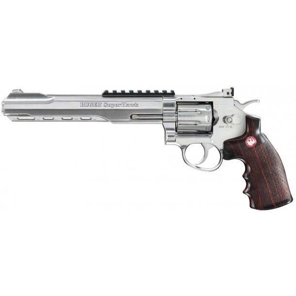 Ruger Super Hawk 8'' Co2 Revolver - silver