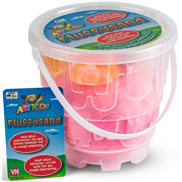 Fluffysand 1 kg. - pink