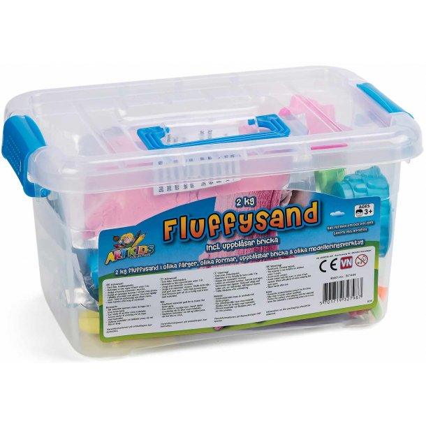 Fluffysand 2 kg. start sæt
