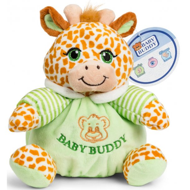 Baby Buddy beanbag giraf med rangle