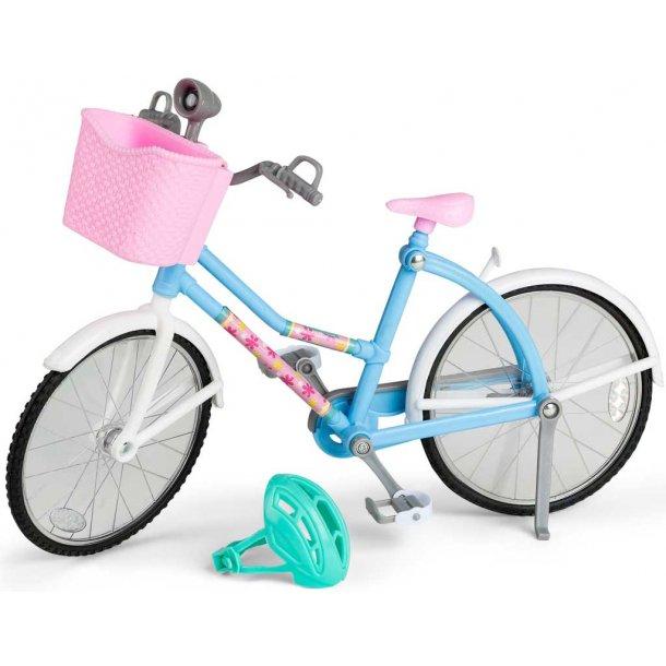 Judith cykel med lys
