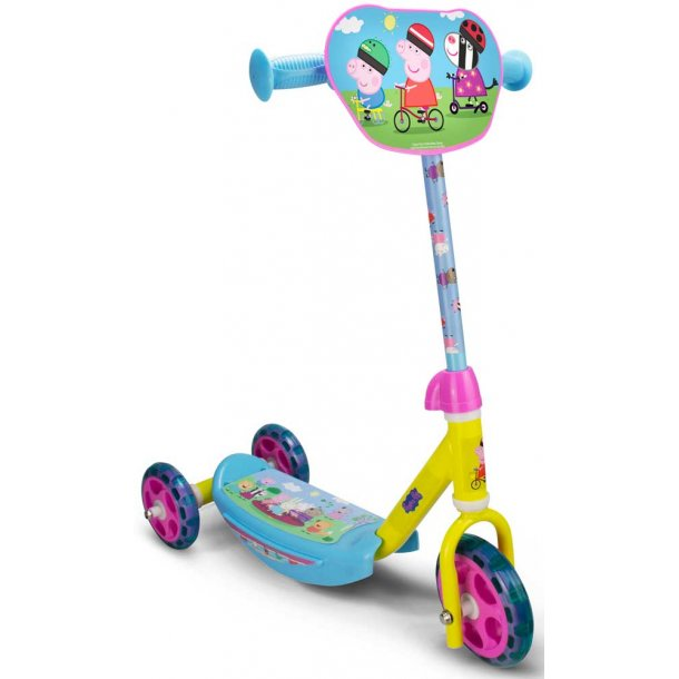 Gurli Gris løbehjul - 3 hjul