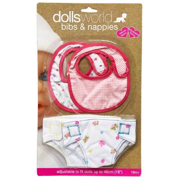 Dolls World underbukser og hagesmæk