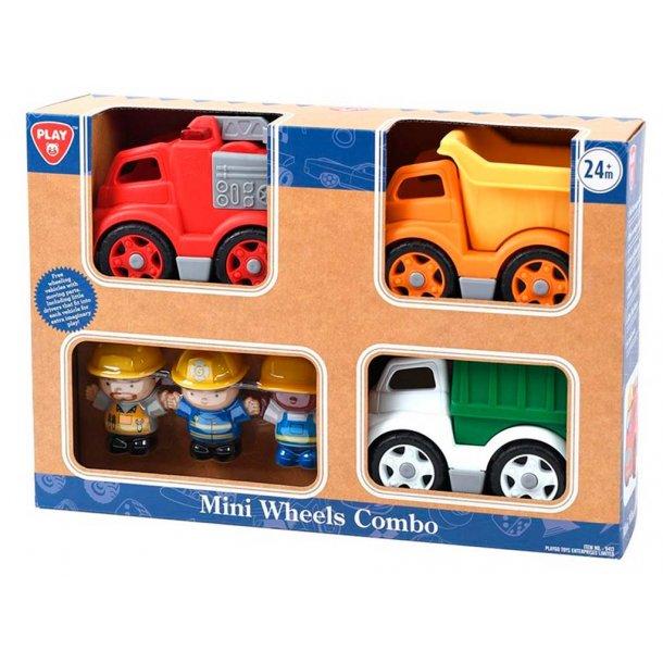Biler med arbejdsmænd
