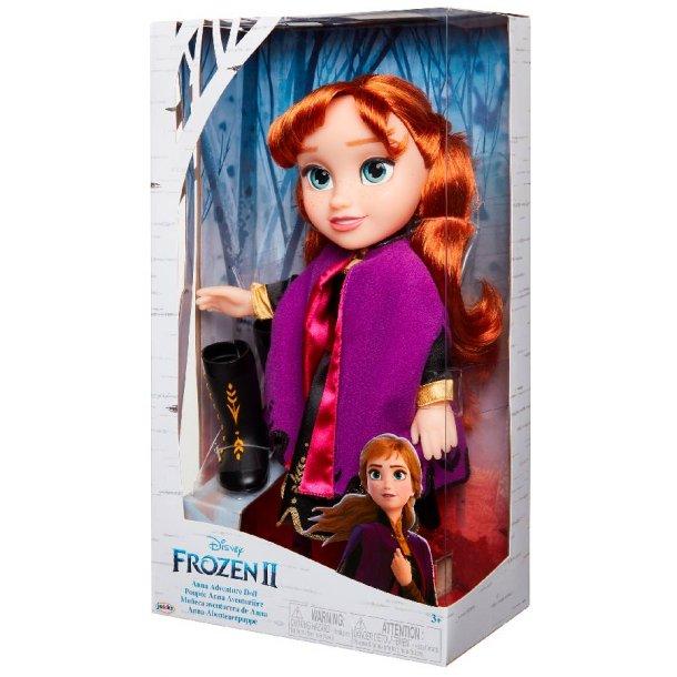 Frozen 2 Anna adventure dukke