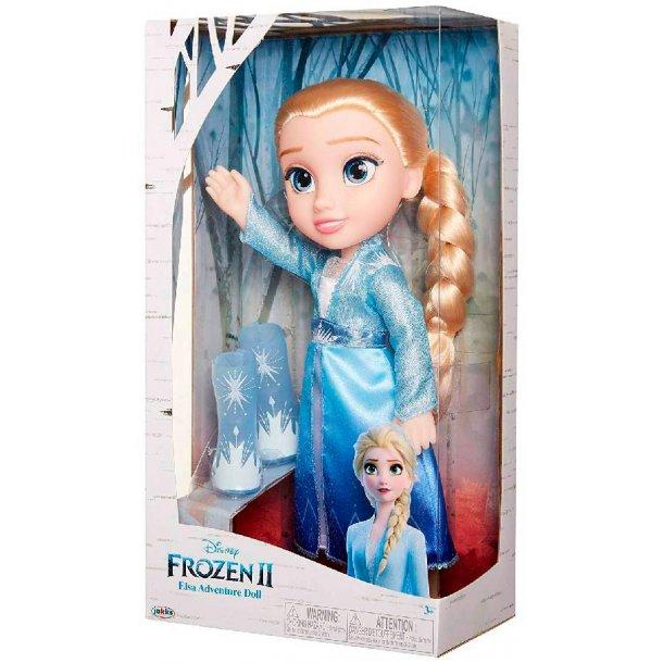 Frozen 2 Elsa adventure dukke