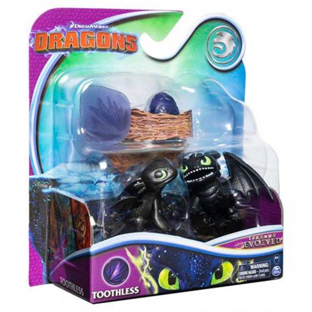 Dragons evolution pakke - Toothless