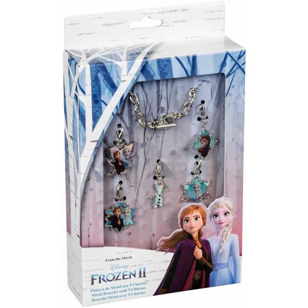 Frozen II armbånd med 5 vedhæng