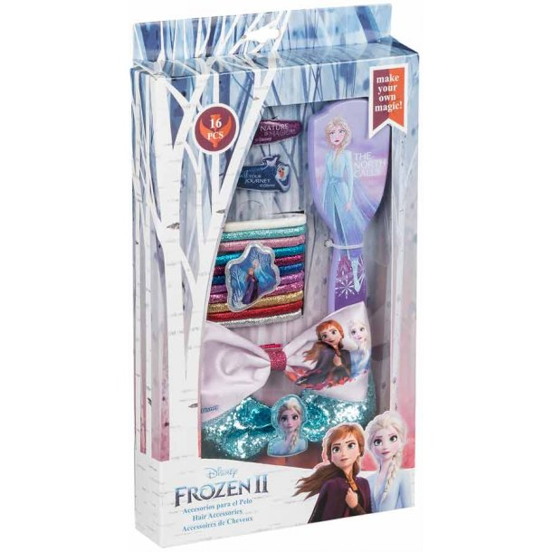 Frozen II hårtilbehør - 16 dele