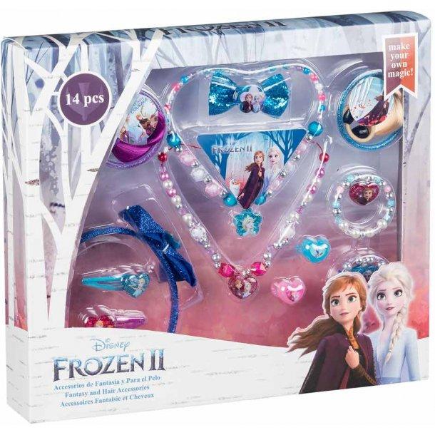 Frozen II hår og smykkesæt