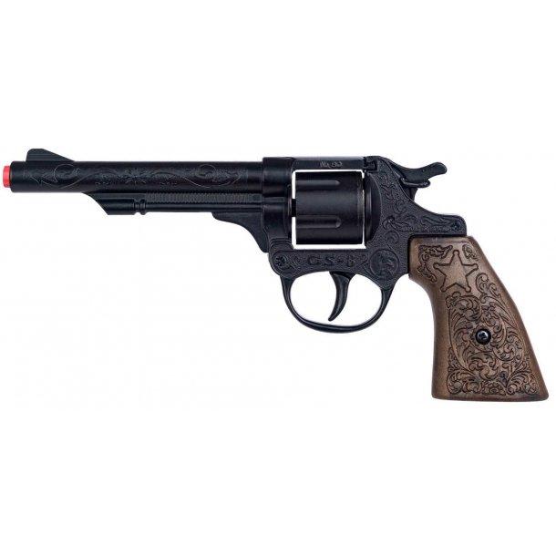 Gonher revolver 8 skuds - fuld metal