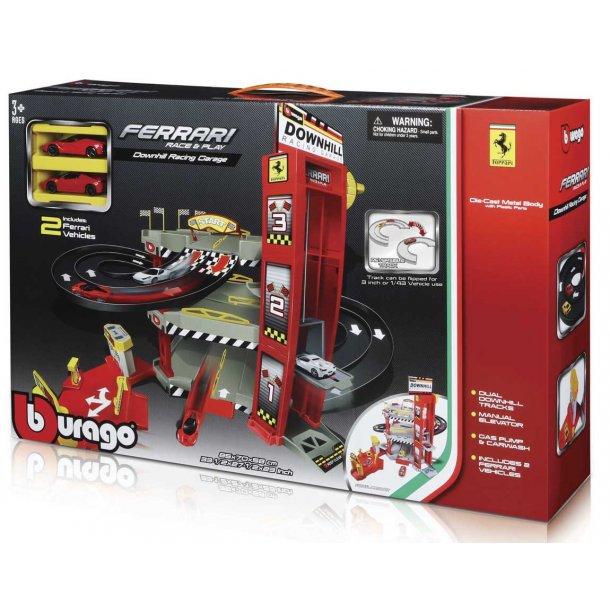 Burago Ferrari downhill racing