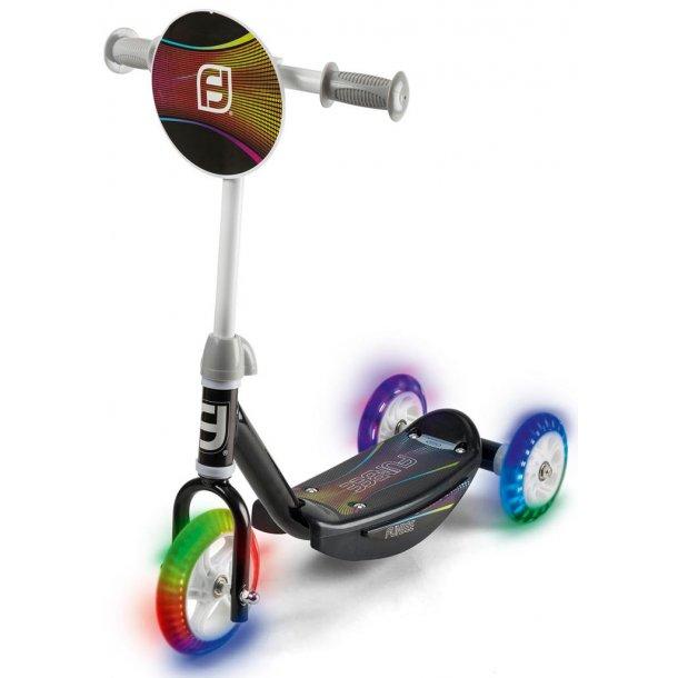 3-hjulet løbehjul med LED-lys