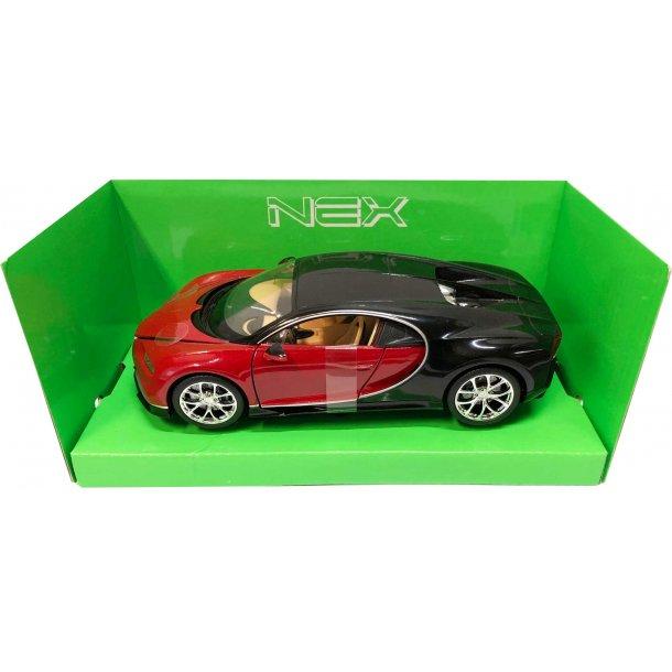 Bugatti Chiron - rød