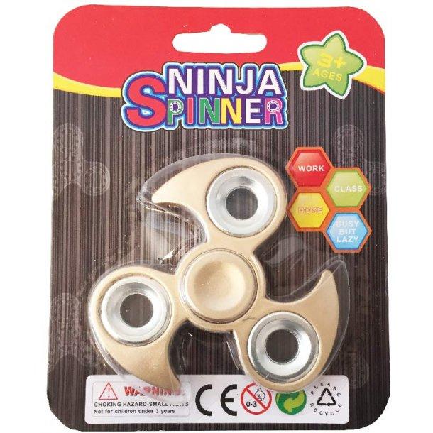 Ninja fidget spinner - Bronze