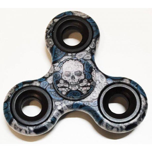 Spinner Airbrush skull
