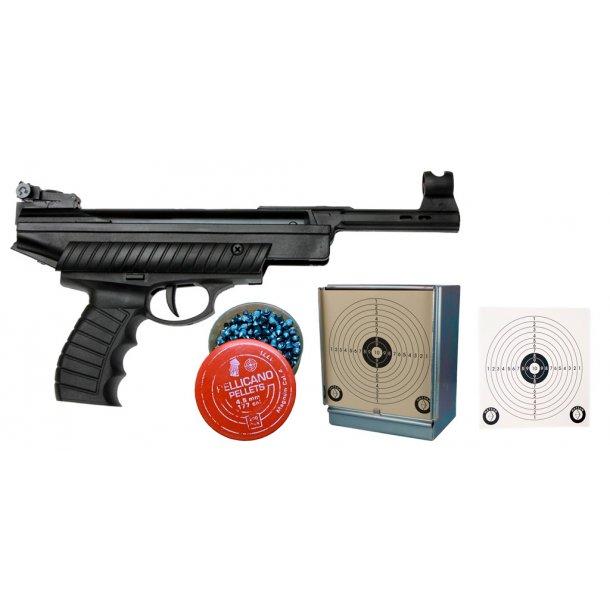 Hatsan Model 25 kit - Luftpistol sæt