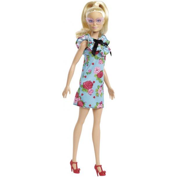 Barbie Fashionistas dukke - blomster kjole