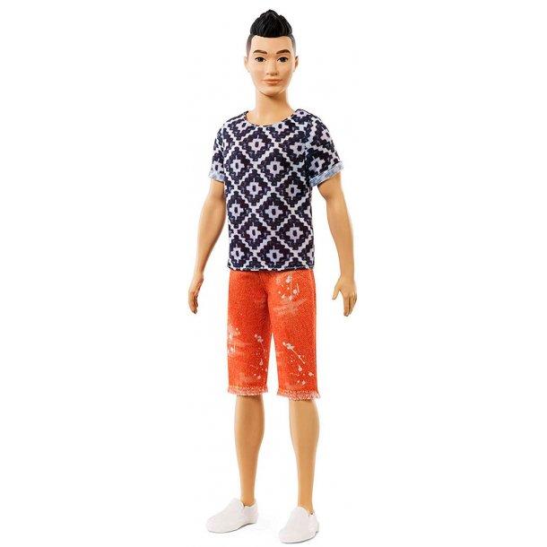 Ken Fashionistas - orange shorts