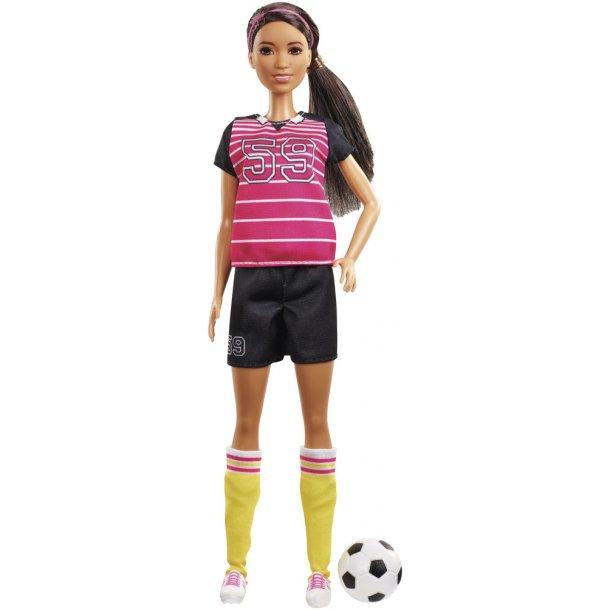 Barbie 60 års dukke - Fodboldspiller