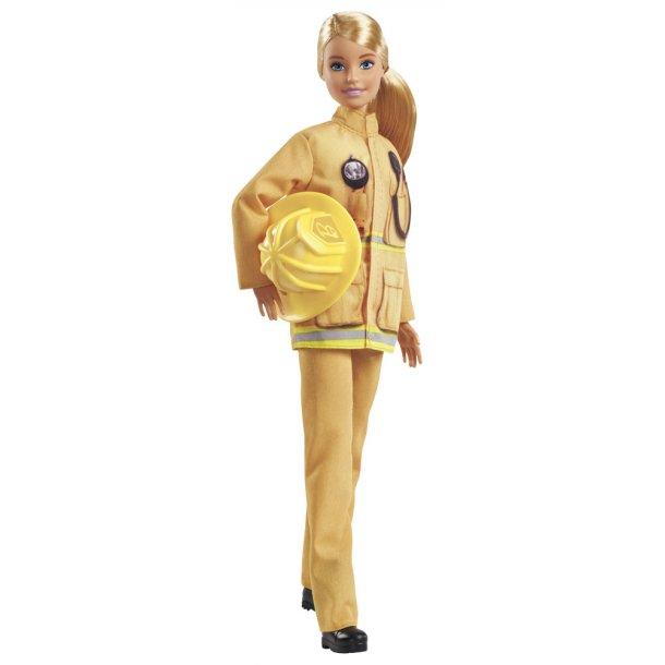 Barbie 60 års dukke - Brandmand