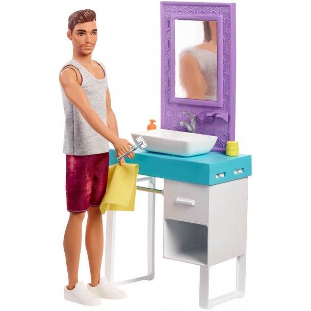 Ken barberer sig