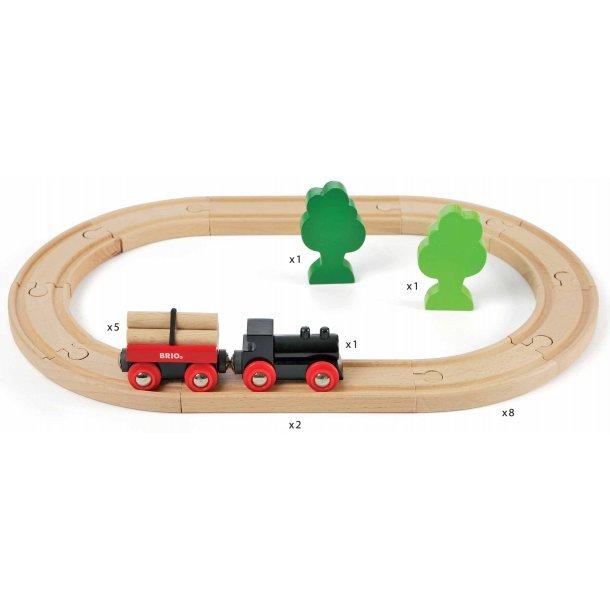 Brio lille skov togbane