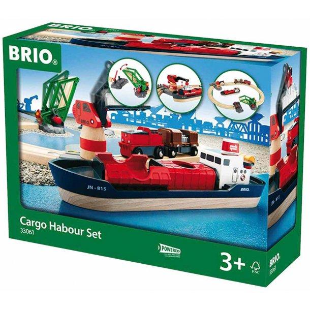 Brio containerhavn - 16 dele