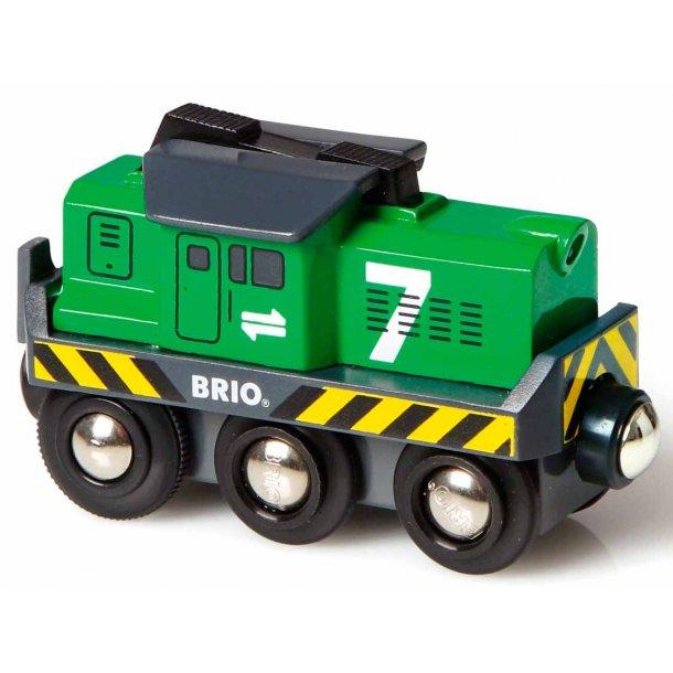 Brio batteridrevet gods lokomotiv